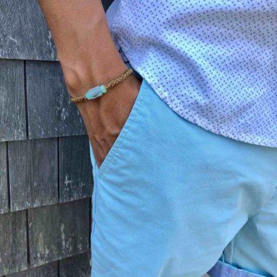 Peruvian Opal Bracelet | RUMI SUMAQ Gemstone Macrame Bracelets