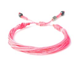 Pink Awareness Bracelet by Rumi Sumaq