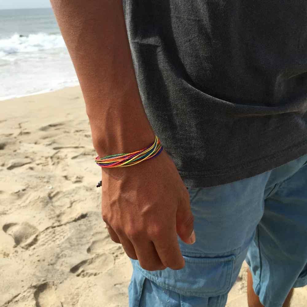 Rainbow Pride Bracelet by Rumi Sumaq