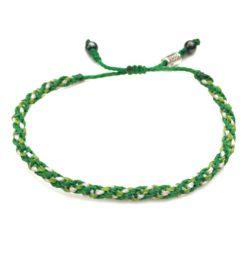 Sailor Rope Bracelet Green: Rumi Sumaq Nautical Sailor Rope Bracelets