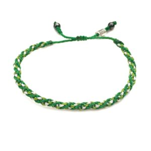 Sailor Rope Bracelet Green: Rumi Sumaq Nautical Sailor Rope Bracelets