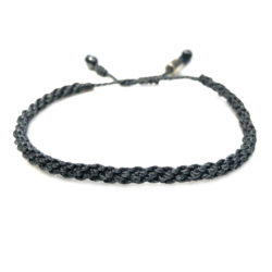 Sailor rope bracelet navy blue - RUMI SUMAQ nautical rope jewelry handcrafted on the beautiful island of Martha's Vineyard
