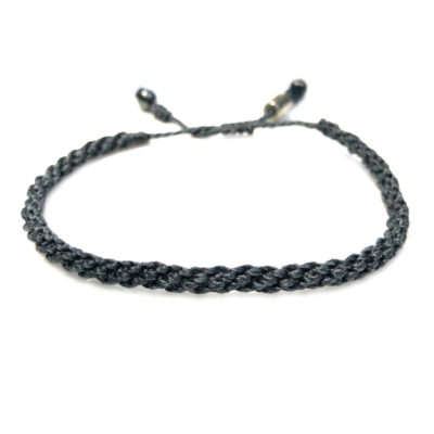 Sailor rope bracelet navy blue - RUMI SUMAQ nautical rope jewelry handcrafted on the beautiful island of Martha's Vineyard