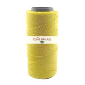 Settanyl 01-314 Canary Yellow Waxed Polyester Cord 1mm Waxed Thread | RUMI SUMAQ