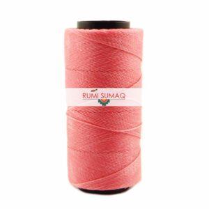 Settanyl 02-626 Classic Pink (Bubblegum) Waxed Polyester Cord 1mm Seta Encerada | RUMI SUMAQ Waxed Brazilian Cord