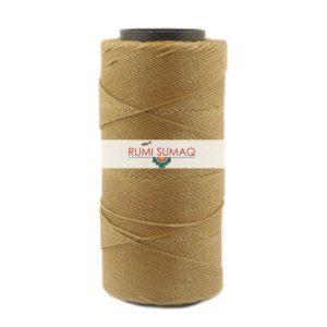 Settanyl 07-770 Waxed Polyester Cord 1mm Waxed Thread | RUMI SUMAQ Waxed Settanyl Cords from Brazil