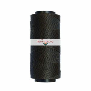 Settanyl 08-771 Olive Grey Waxed Polyester Cord from Brazil | RUMI SUMAQ Waxed Thread for Leather Working, Quilting, Basket Weaving, Macrame Knotting, Beading, and Macrame Jewelry.