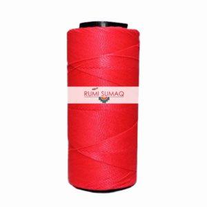 Settanyl 09-328 Neon Pink Waxed Polyester Cord 1mm Setta Encerada Rosada | RUMI SUMAQ Brazilian Waxed Cords