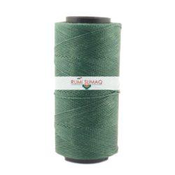 Settanyl 387 Eucalyptus Green Waxed Thread 1mm Waxed Polyester Cord | RUMI SUMAQ Cords