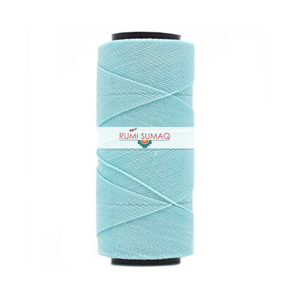 Settanyl cord 04-315 glacier 1mm waxed polyester thread | RUMI SUMAQ hilo encerado