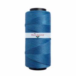 Settanyl Cord 05-736 Blue Bird 1mm Waxed Polyester Cord | RUMI SUMAQ Waxed Thread