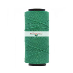 Settanyl Cord 06-224 Blue Spruce 1mm Waxed Polyester String | RUMI SUMAQ