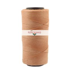 Settanyl Waxed Cord 06-550 Terra Rosa | Rumi Sumaq Waxed Threads for Basket Making, Macrame Knotting, Beading jewelry, Leather Working and Quilting