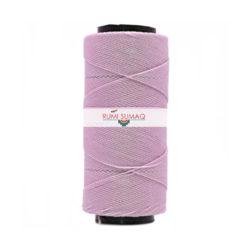 Settanyl waxed polyester cord in soft lilac #03-362 | RUMI SUMAQ Waxed Thread Hilo Encerado