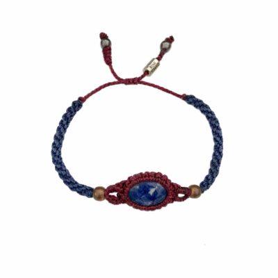 Sodalite Macrame Bracelet | RUMI SUMAQ
