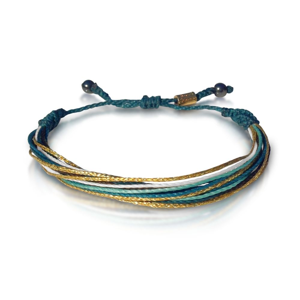 gold beach bracelets bracelet products green boho othmar