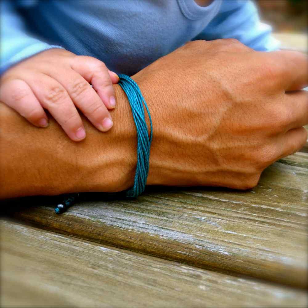 Teal Awareness Bracelet: Rumi Sumaq Jewelry