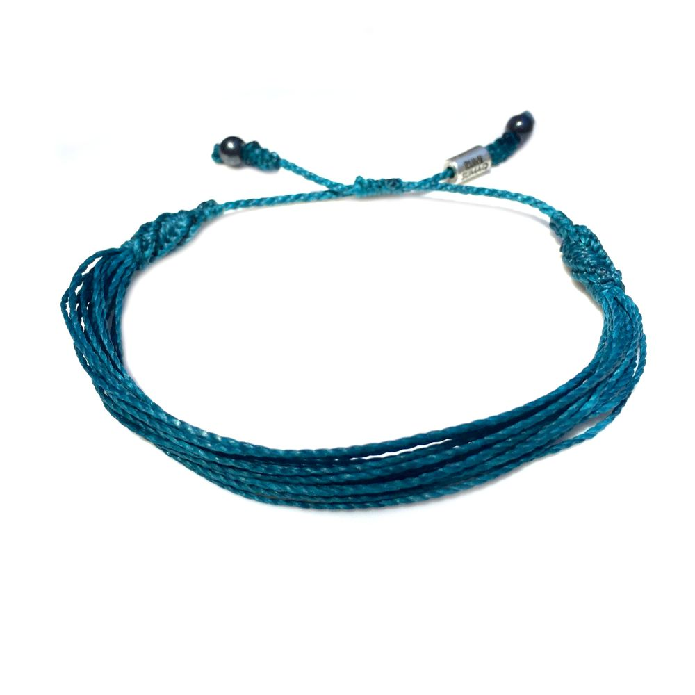 Teal Awareness Bracelet Rumi Sumaq Jewelry