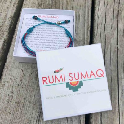 Thyroid Cancer Awareness Bracelet | RUMI SUMAQ rumisumaq.com