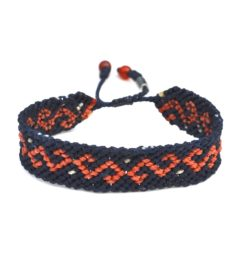 Washkar Macrame Bracelet by designer Coco Paniora Salinas of Rumi Sumaq