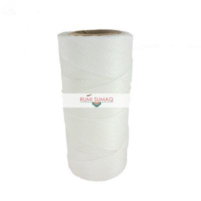 White waxed polyester cord 1mm Linhasita preto | RUMI SUMAQ
