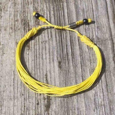 Yellow Awareness Bracelet | RUMI SUMAQ Yellow Awareness Jewelry